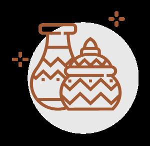 Keramik abholen