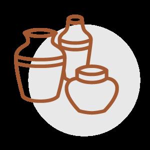 Keramik Form Auswahl