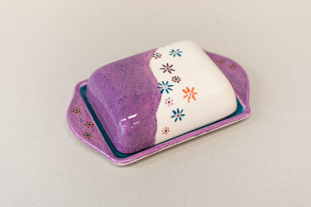 Butterdose Keramik bemalen Landshut
