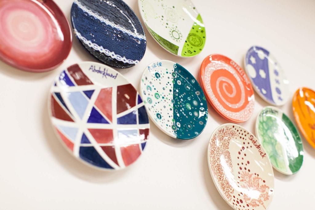 Keramik bemalen Techniken