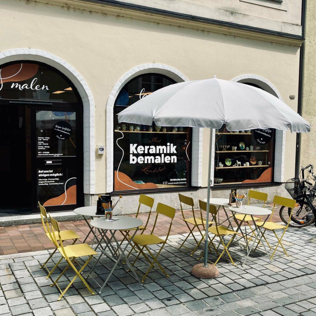 Keramik bemalen Landshut